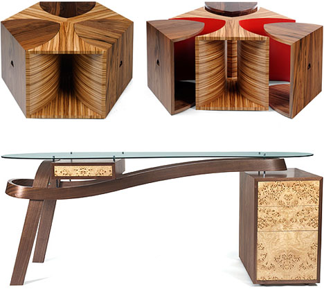 contemporary modern wood furniture