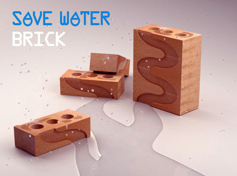 eco friendly brick design