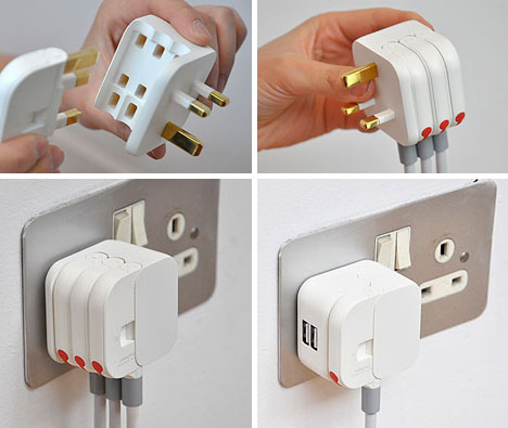 flat power cord idea