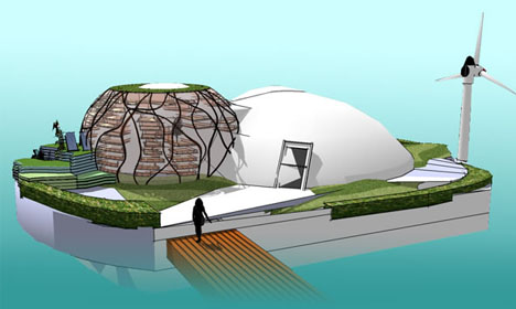 Living on Waterworld: Floating & Future-Ready Eco-Home ... on future of boats, future armored vehicles, future navy boats, future space stations, future pontoon boats, future animals, future cruisers, future race boats, future boat design, future speed boats, future architecture concepts, future cargo boats, future boats yachts, future seaplanes, future atv, future technology, future townhouses, future power boats, future homes,