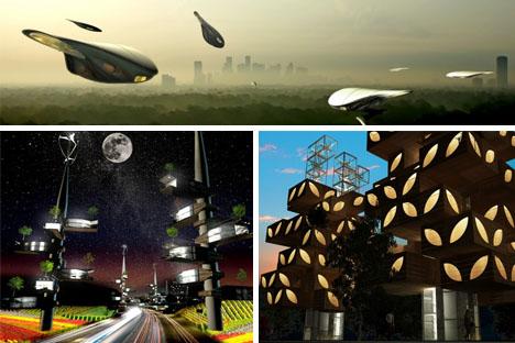 futuristic suburban redesign