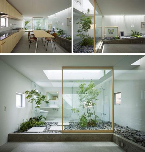 Amazing Home Atrium MultiLevel Interior Garden Design