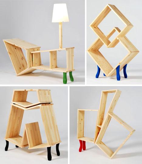 hacked insane wood furniture