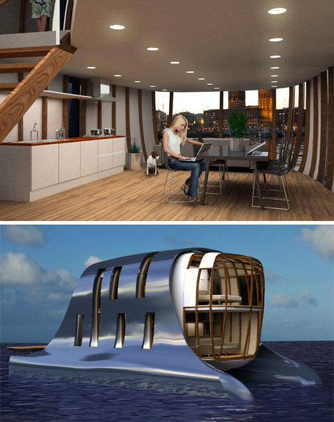 houseboat interior design
