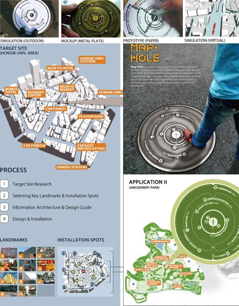 manhole cover map idea