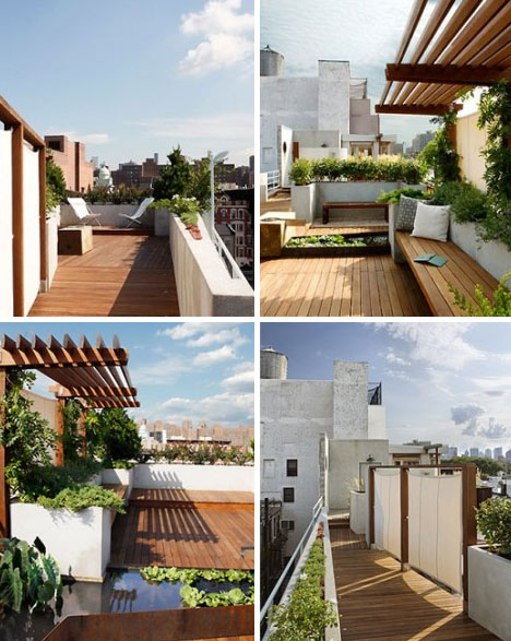 nyc rooftop luxury deck