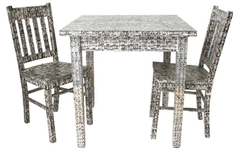 photo covered furniture