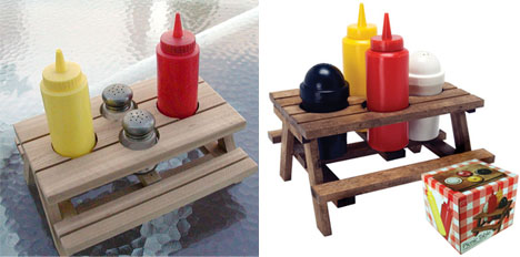 picnic table miniature