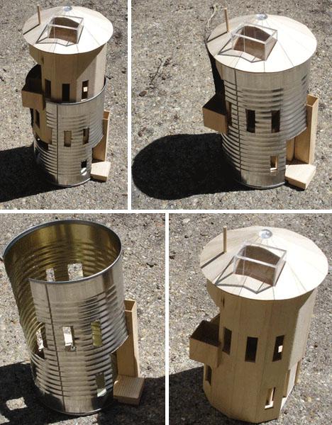 prefab silo home models
