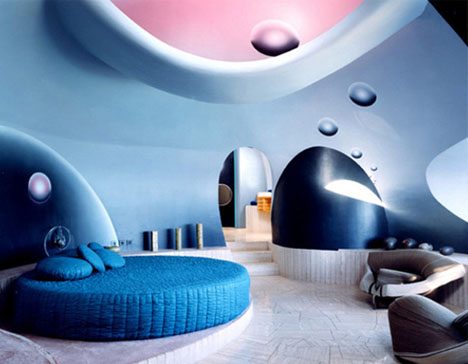 Interior Design Future vintage futurism: retro-modern home & interior design