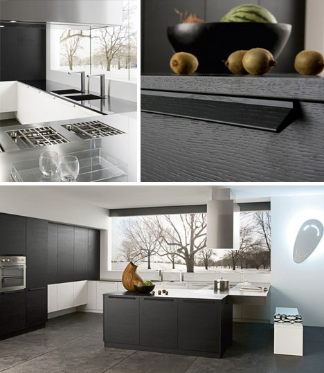 Contemporary Kitchen Simple Modern Black White Design Designs Ideas On Dornob