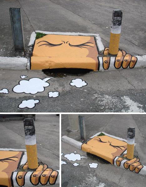 street art storm drains