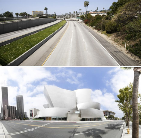 traffic free highway landmark