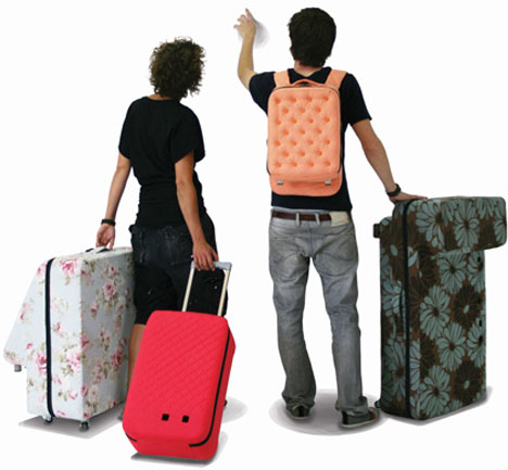 transforming suitcase set