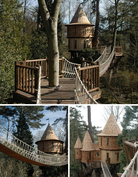 how to build a big treehouse