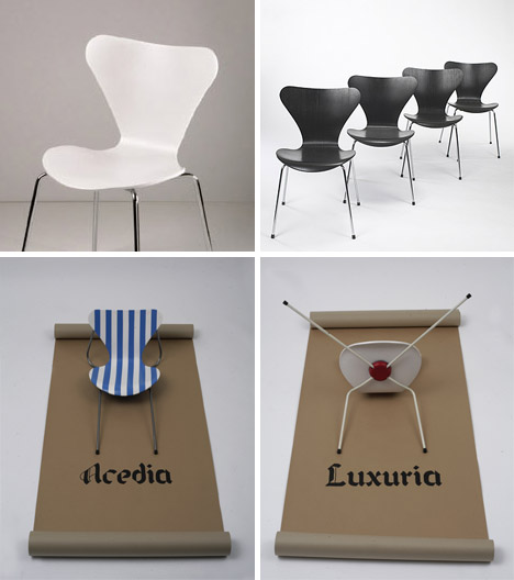 7 series arne jacobsen chairs