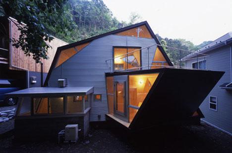 amazing angled house