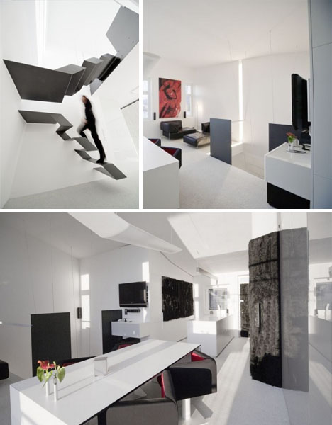 best home office black white