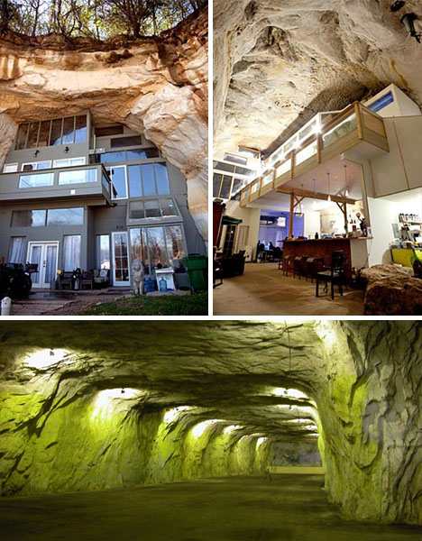 Huge Cave House: Unique Modern Underground Mega-Home ...