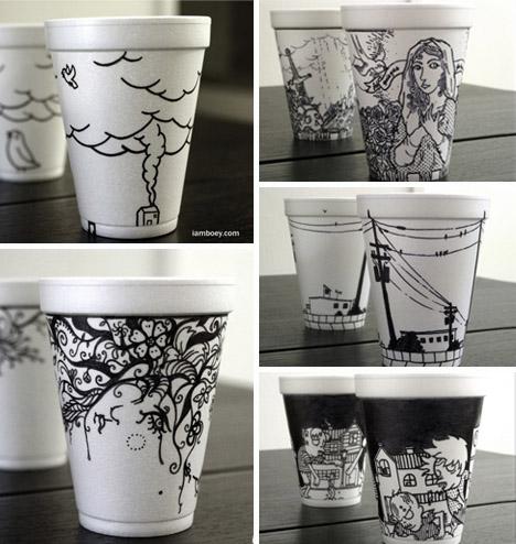 creative cup art