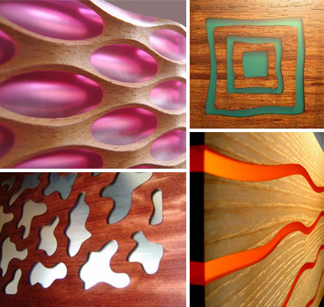 Design Canvas Wood Plastic Wall Panels