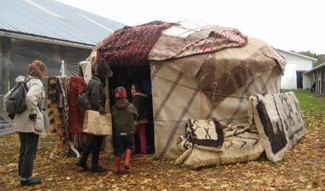 diy yurt project 4