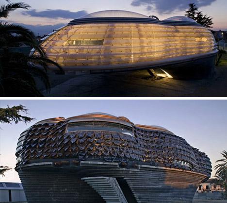 futuristic nurbs house a