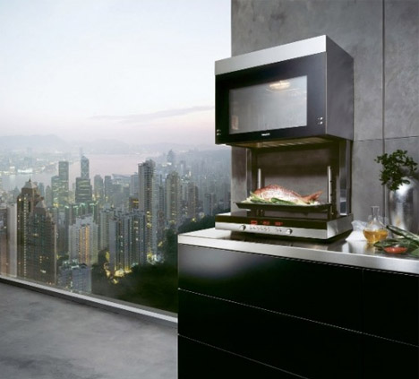 Wall Hung Hover Oven Cooks Amp Looks Like A Dumbwaiter