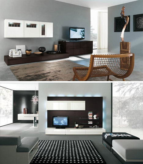 living room storage furniture layouts