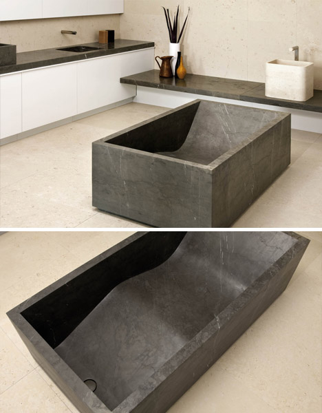 luxury stone bathtubs