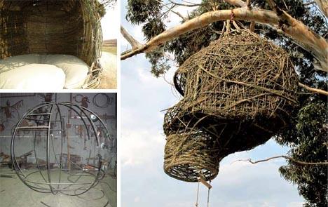 organic tree house construction