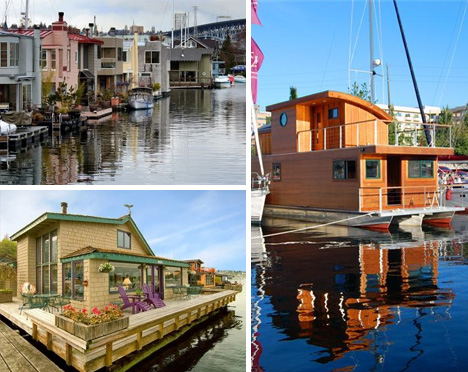seattle houseboat floating communities