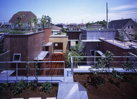 secret green roof garden