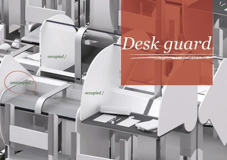 secure desk design idea