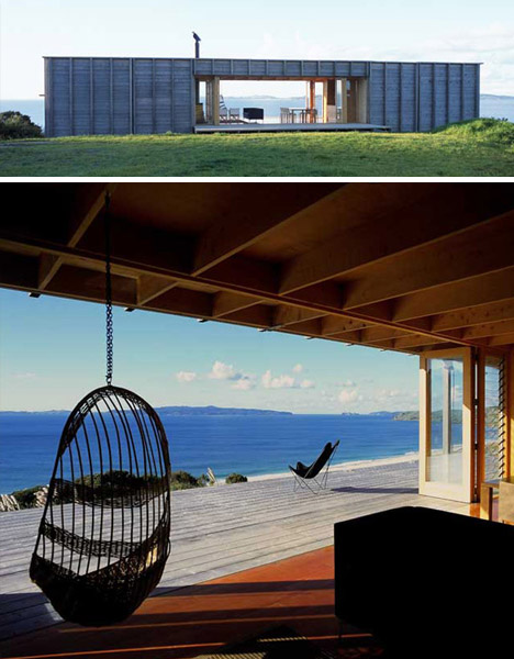 see through beach house day
