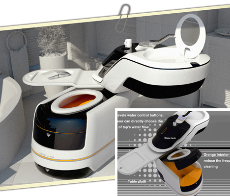 Toilet Sink Combo All In One Super Sleek Bathroom Set
