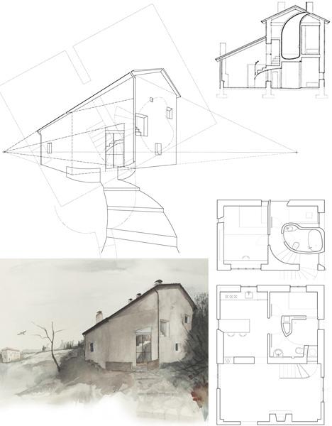 Architecture art history hybrid modern building design for Architecture hybride