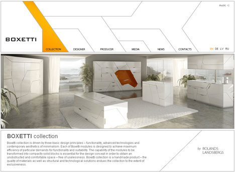 Home In A Box 5 Room Solutions For Living In Small Spaces - Futuristic-minimalist-furniture-from-boxetti