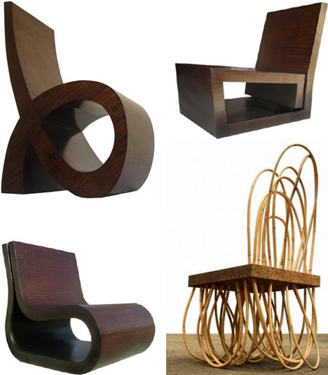hybrid wood chair designs