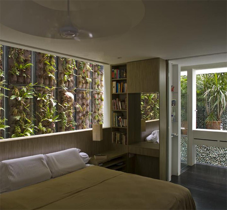 Jungle Home: Green Tree-Filled Interior & Moss-Lined Walls on madison homes, blu homes, grass homes, manchester homes, teal homes, spencer homes, ski homes, green homes, johnson homes, clay homes, chocolate homes,