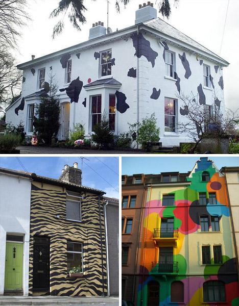 outside house colors ideas 76 Digital Art Gallery Warning Wet Paint