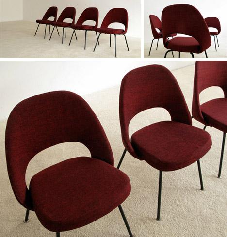 retro vintage modern chair design