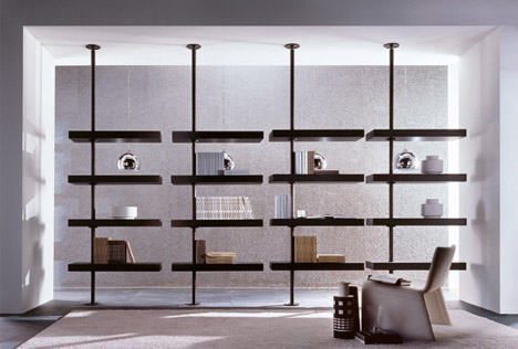 Suspend Disbelief 7 Floating Amp Rotating Shelving Systems