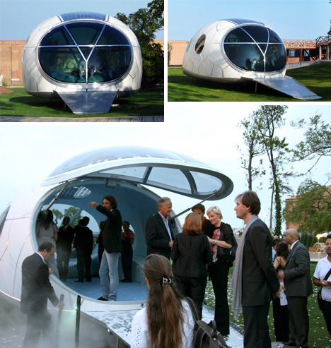 Energy Pod solar pod: the off-grid, eco-energy, portable power house