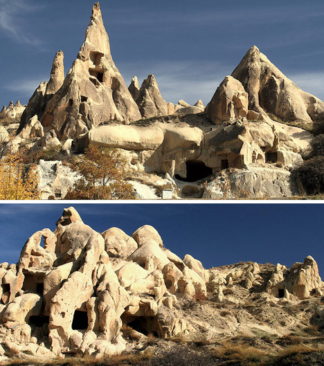 underground cave home. Centered  Underground Cities 3500 Years of Cappadocian Cave Homes