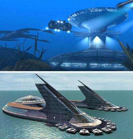 utopian sea cities