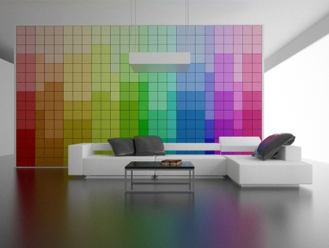 cool color changing walls for your home