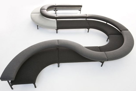 Cool Curved Couch: Design Your Own Custom Sectional Sofa