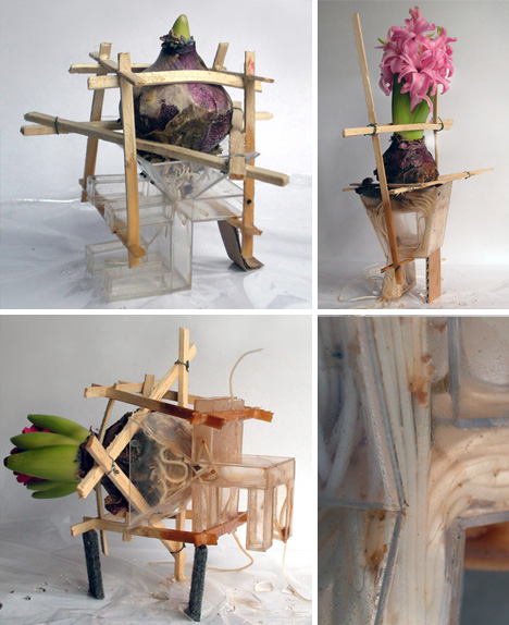 Diy Design Objects: DIY Plant Furniture: Green-Growing Organic Home Objects