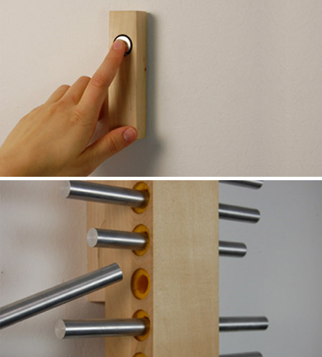 Modern Doorbell Wired Musical Chimes